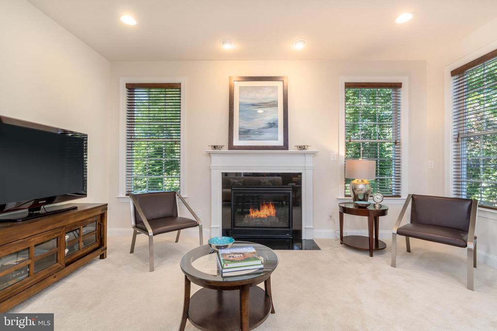 Open plan kitchen/Family Room/Dining - 7142 DEGROFF CT, ANNANDALE