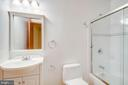 Full bathroom #2 in Lower Level - 11604 TORI GLEN CT, HERNDON