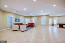 Recreation room with walk-out - 11604 TORI GLEN CT, HERNDON