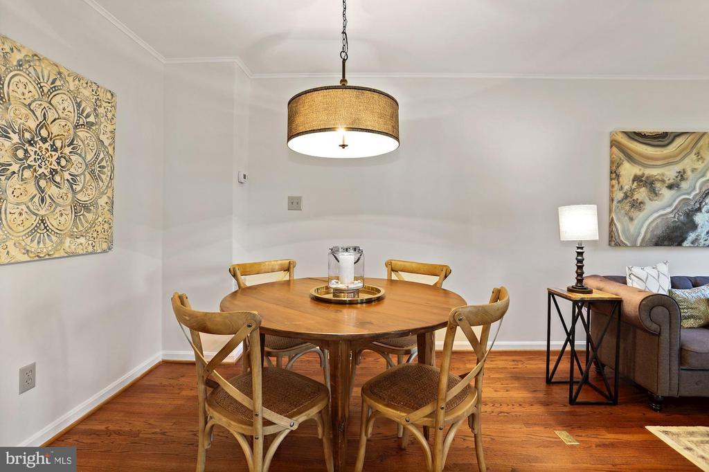Dining area - 848 N FREDERICK ST, ARLINGTON