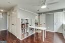 Third Level Loft Space/Bedroom area - 624-A N TAZEWELL ST, ARLINGTON