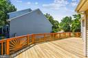 Expanded deck is perfect for entertaining - 20405 EPWORTH CT, GAITHERSBURG