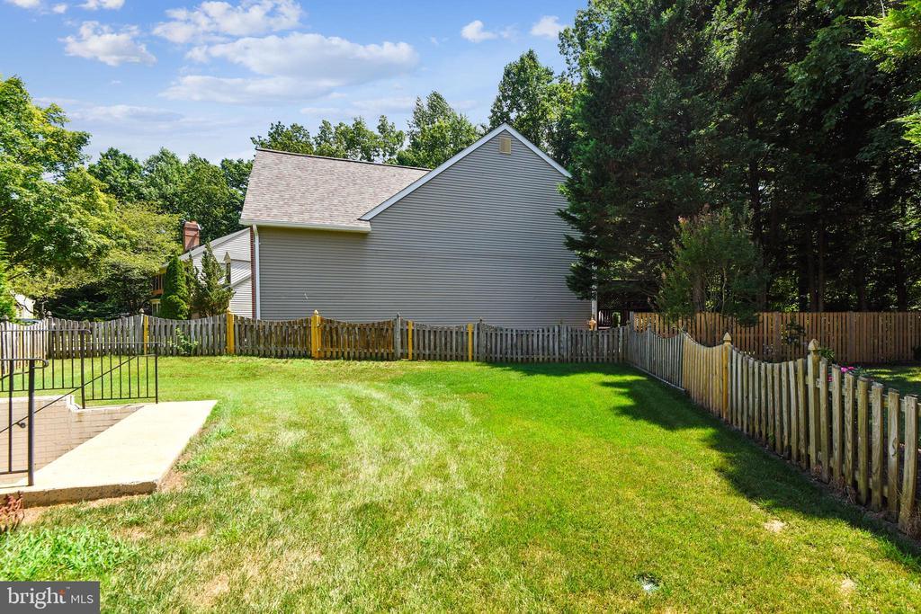 Backyard view - 20405 EPWORTH CT, GAITHERSBURG