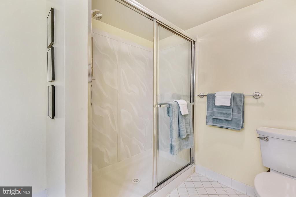 Lower level full bathroom shower - 20405 EPWORTH CT, GAITHERSBURG