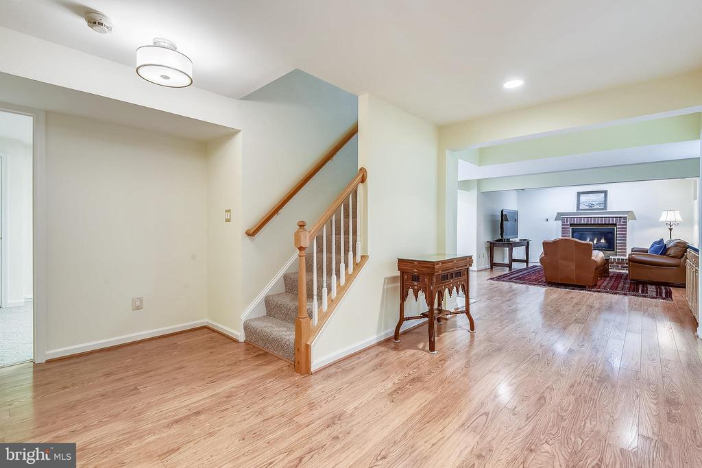 Lower level foyer - 20405 EPWORTH CT, GAITHERSBURG