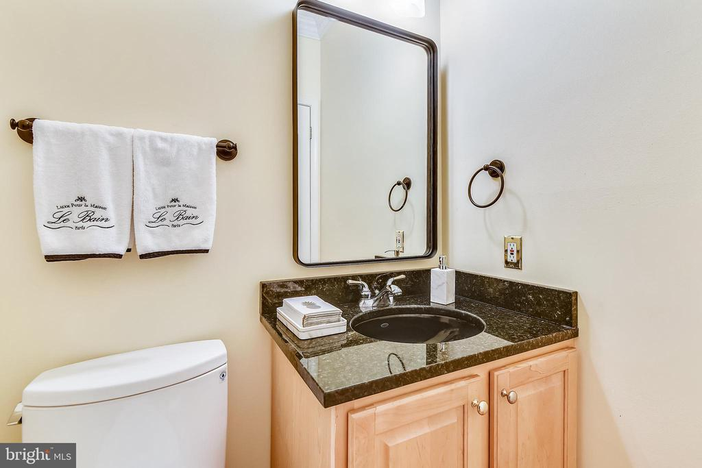 Main level powder room - 20405 EPWORTH CT, GAITHERSBURG