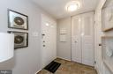 Entry foyer with  coat closet and powder room - 2033 BROOKS SQUARE PL, FALLS CHURCH