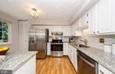 Tastefully updated modern kitchen - 2033 BROOKS SQUARE PL, FALLS CHURCH