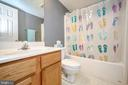 Lower full bath - 1221 LAKEVIEW PKWY, LOCUST GROVE