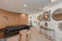 Lower Level Family Room/Artist Showroom - 3001 FOXHALL RD NW, WASHINGTON