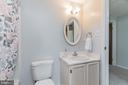 Upstairs full bath - 8203 WHITE STONE LN, SPRINGFIELD