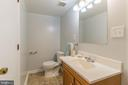 Lower level full bath - 8203 WHITE STONE LN, SPRINGFIELD