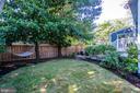 Back yard - 3506 7TH ST N, ARLINGTON