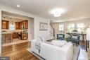 Thoughtfully renovated to open the floor plan - 3506 7TH ST N, ARLINGTON