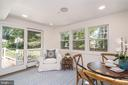 Sunroom off of the kitchen - 3506 7TH ST N, ARLINGTON
