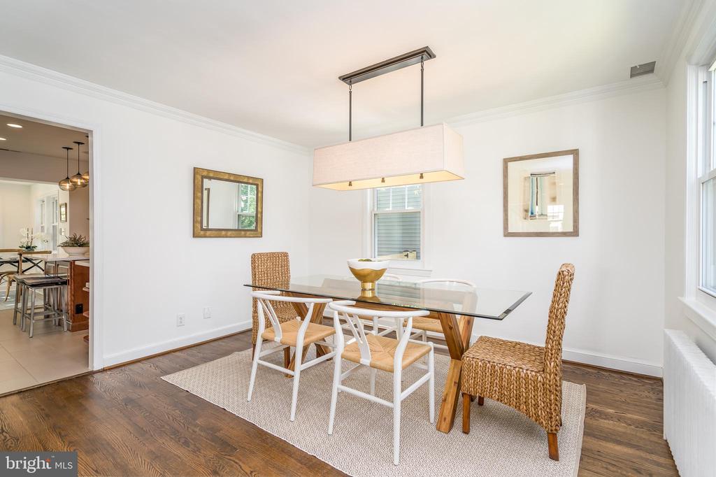 Formal dining room - 3506 7TH ST N, ARLINGTON