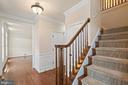 foyer - 7304 BACKLICK RD, SPRINGFIELD