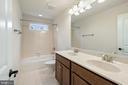 shared hall bath - 7304 BACKLICK RD, SPRINGFIELD