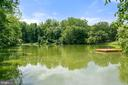 Direct view of Lake Beverly from rear of Home - 7304 BACKLICK RD, SPRINGFIELD