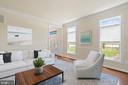 VS living room - 7304 BACKLICK RD, SPRINGFIELD