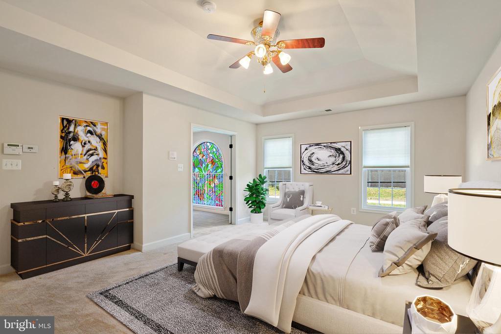 VS upper master bedroom #1 - 7304 BACKLICK RD, SPRINGFIELD