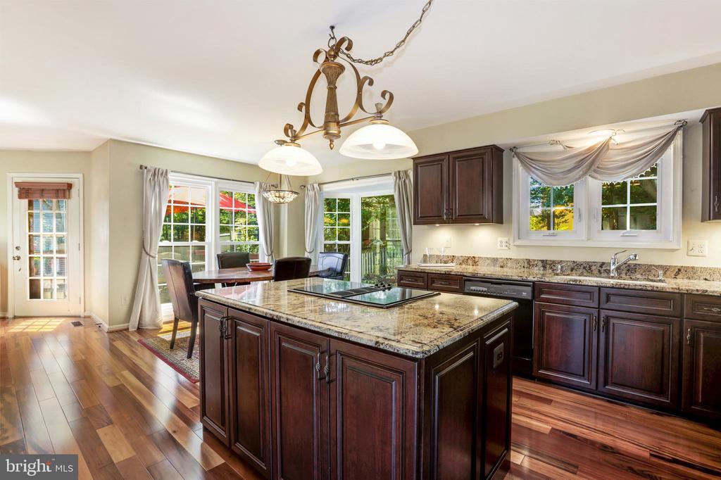 Updated gourmet kitchen - 13915 MARBLESTONE DR, CLIFTON