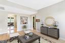 Virtually Staged Living area - 1911 KEY BLVD #11563, ARLINGTON