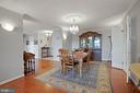 Gracious Open Space throughout Condo - 1800 OLD MEADOW RD #1106, MCLEAN
