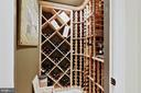 Basement Wine Closet - 19854 ANNENBERG DR, ASHBURN