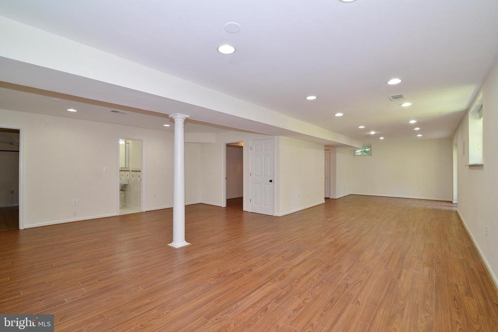 Walkout Lower Level - 3366 BANNERWOOD DR, ANNANDALE