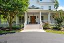 Main Entry with Wrap-around Porches - 6811 CLIFTON RD, CLIFTON