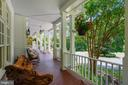 Wonderful Front Porch - faces west - 6811 CLIFTON RD, CLIFTON