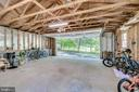 Detached (as is) Garage ready for your lifestyle - 5708 GLENWOOD CT, ALEXANDRIA