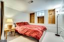 Wonderful private room used as a bedroom - 5708 GLENWOOD CT, ALEXANDRIA