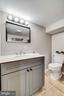 3rd bath newly remodeled in 2020 - 5708 GLENWOOD CT, ALEXANDRIA