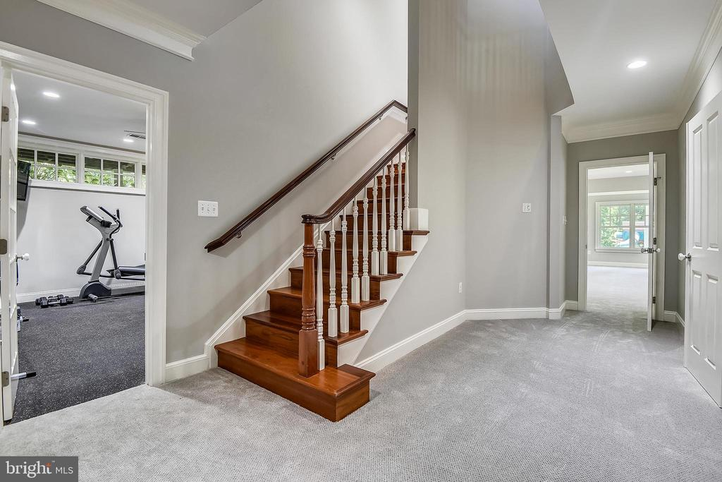Landing at Lower Level - 6811 CLIFTON RD, CLIFTON