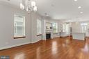 View of Dining Area - 3518 10TH ST NW #B, WASHINGTON