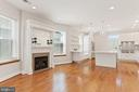 View of Dining Room to Kitchen - 3518 10TH ST NW #B, WASHINGTON
