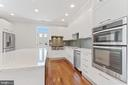 View of Awesome Counter Space & Double Ovens - 3518 10TH ST NW #B, WASHINGTON