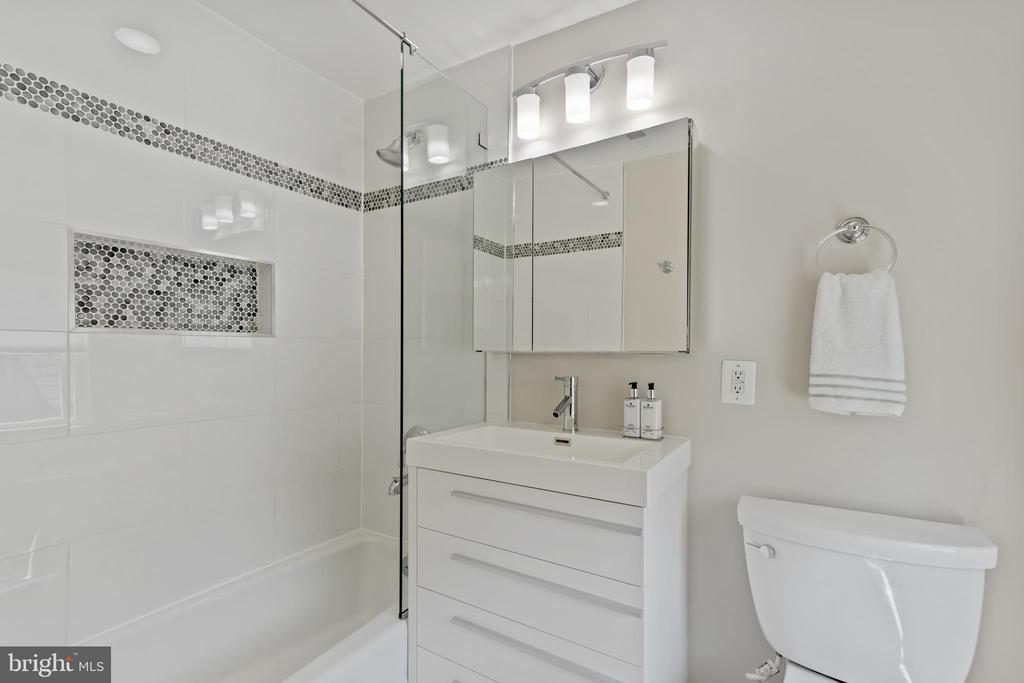 Bathroom 2~ - Ensuite - 3518 10TH ST NW #B, WASHINGTON