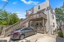 Parking & side access to front door - 3518 10TH ST NW #B, WASHINGTON