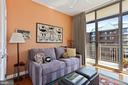 Bedroom 2 with balcony #3 - 1000 N RANDOLPH ST #809, ARLINGTON