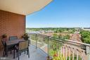 Open views to north and west - 1000 N RANDOLPH ST #809, ARLINGTON