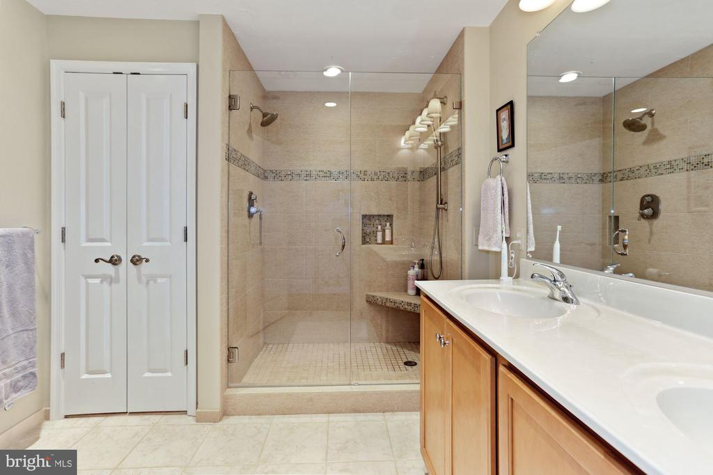 Master bath partially renovated - 1000 N RANDOLPH ST #809, ARLINGTON