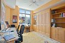 Bedroom 3: murphy bed and built in desks - 1000 N RANDOLPH ST #809, ARLINGTON