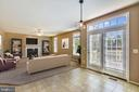 Family Room virtually staged - 14091 EAGLE CHASE CIR, CHANTILLY