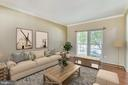 Living Room virtually staged - 14091 EAGLE CHASE CIR, CHANTILLY