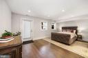 Dual master bedrooms - 407 RANDOLPH ST NW #1, WASHINGTON