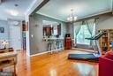 These floors are gleaming! - 3110 RIVERVIEW DR, COLONIAL BEACH