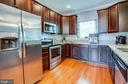 Stainless steel appliances and granite - 3110 RIVERVIEW DR, COLONIAL BEACH